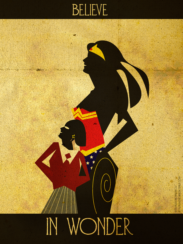 Believe - Wonder Woman by KerrithJohnson