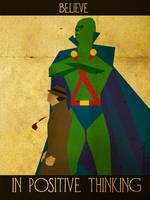 Believe - Martian Manhunter by KerrithJohnson