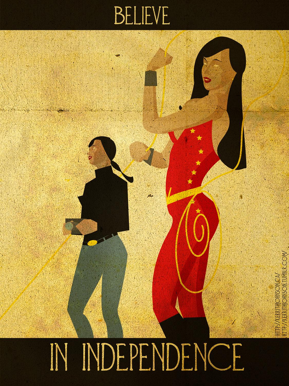 Believe - Wondergirl by KerrithJohnson