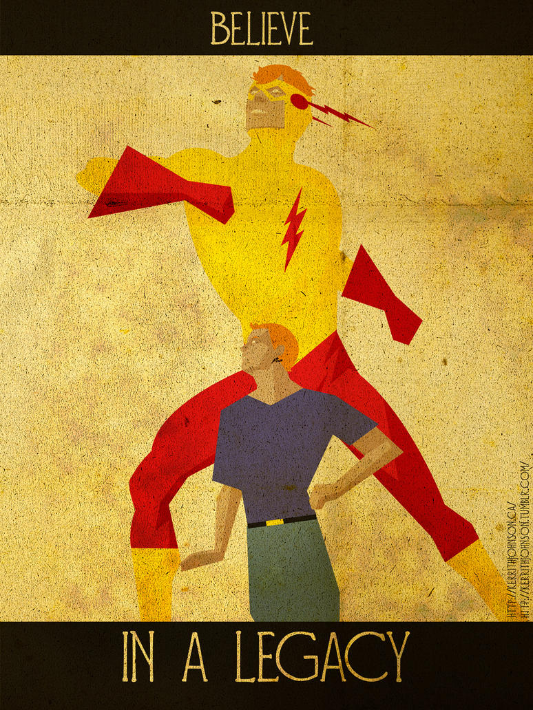 Believe - Kid Flash by KerrithJohnson