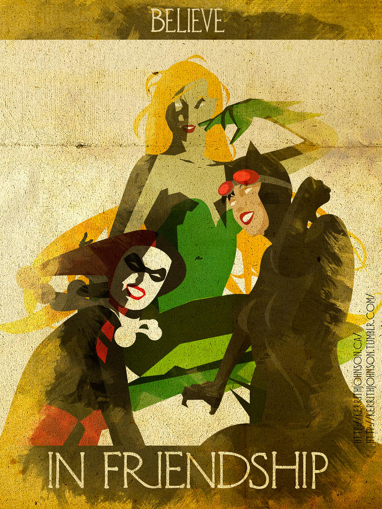 Believe - Gotham City Sirens by KerrithJohnson
