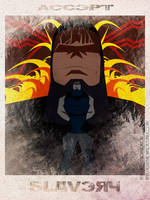 Accept - Darkseid by KerrithJohnson