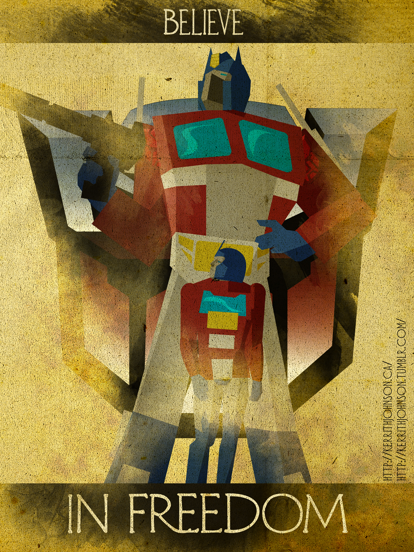 Believe - Optimus Prime by KerrithJohnson