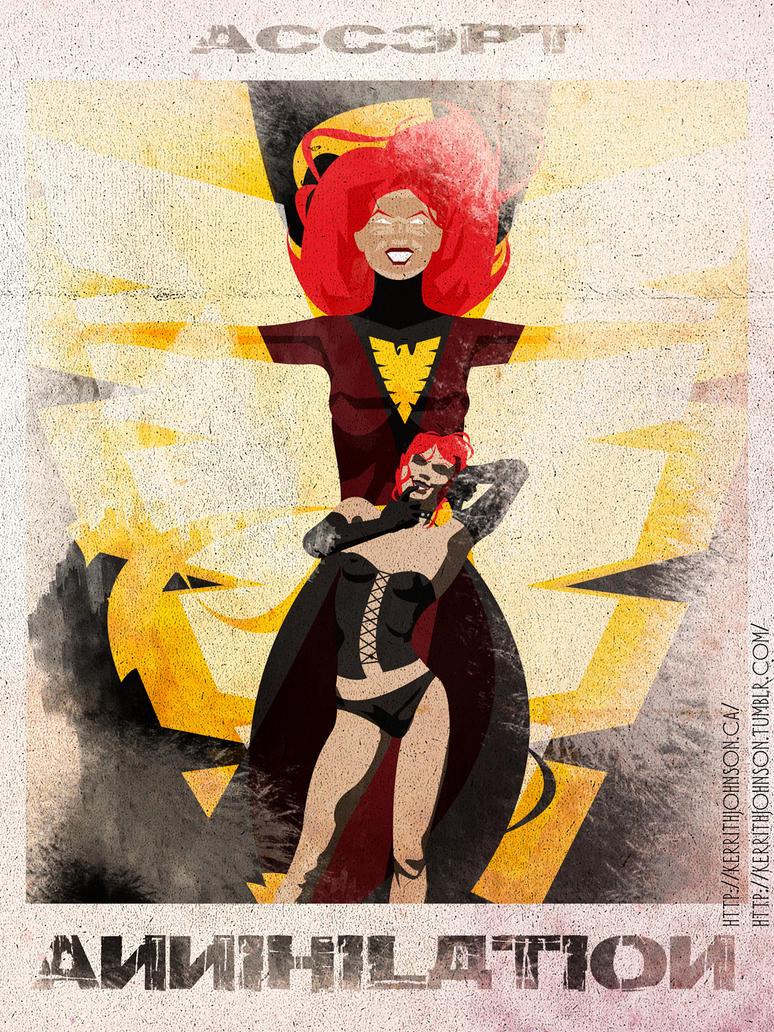 Accept - Dark Phoenix by KerrithJohnson