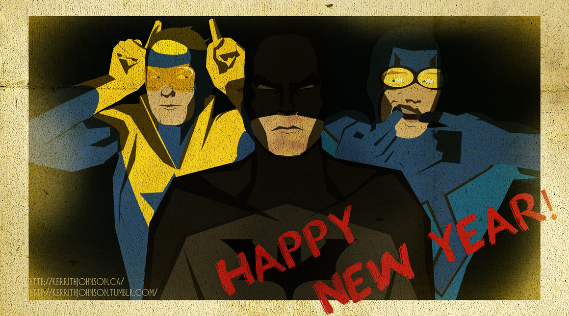 BnG- Holiday Hijinxs Part 1: Happy New Year- 2013! by KerrithJohnson