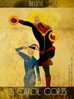 Believe - Captain Marvel by KerrithJohnson