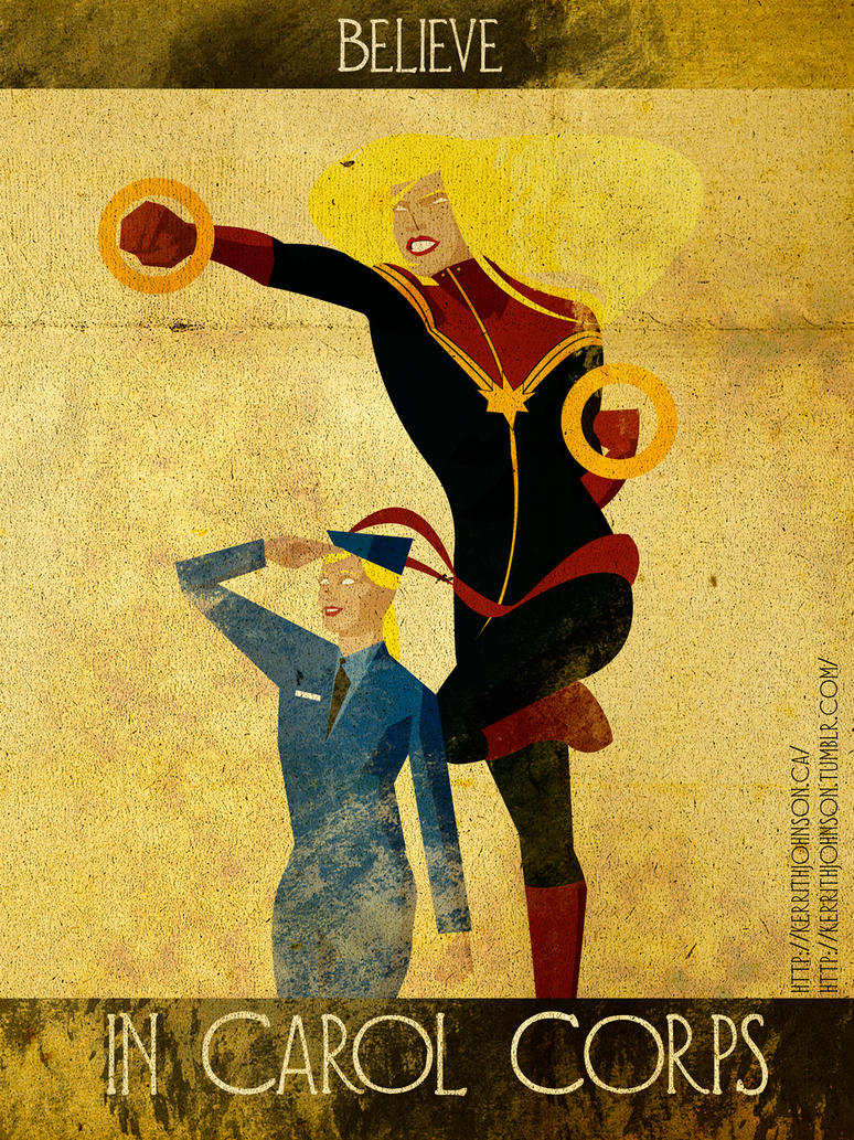 Believe - Captain Marvel by KerrithJohnson