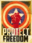 Captain America Heroes Protect