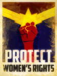 Heroes Protect - Captain Marvel - Women's Rights
