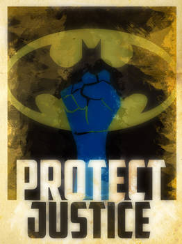 Heroes Protect - Batman - Justice