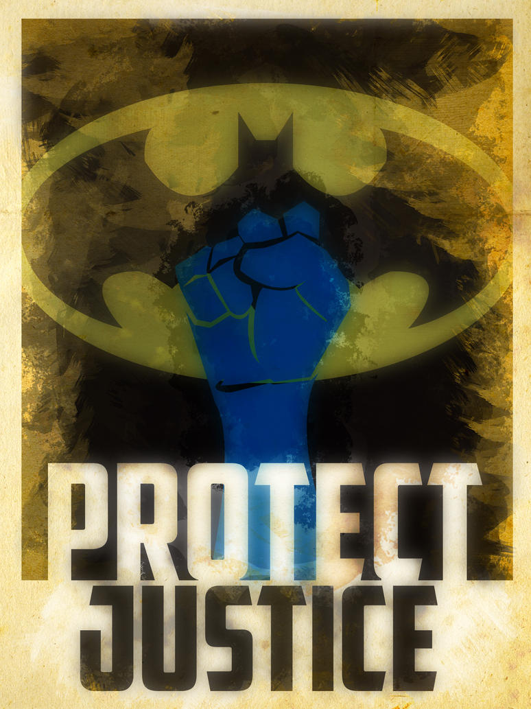 Heroes Protect - Batman - Justice by KerrithJohnson
