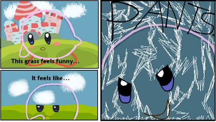 GRASS FEELS LIKE PANTS. by Zanreo