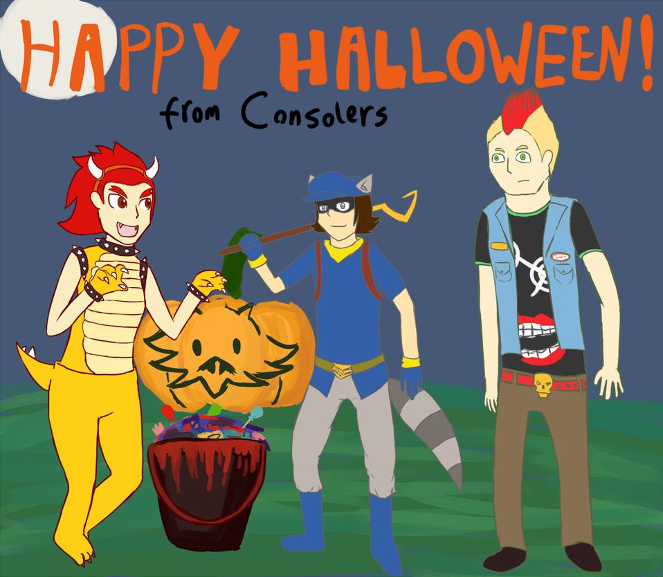 Happy Halloween 2014 by Zanreo