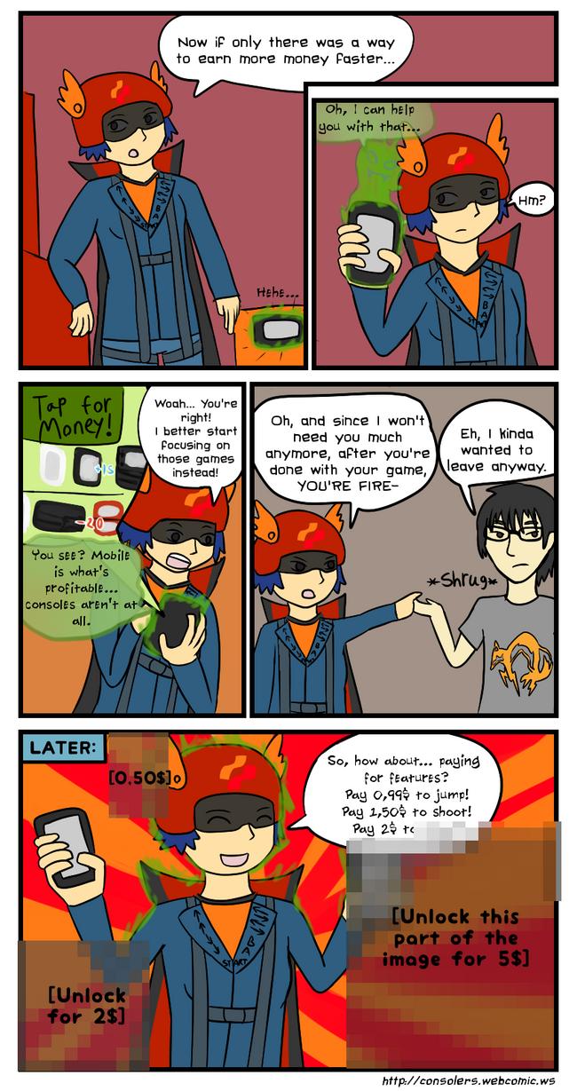 Konami goes Mobile by Zanreo