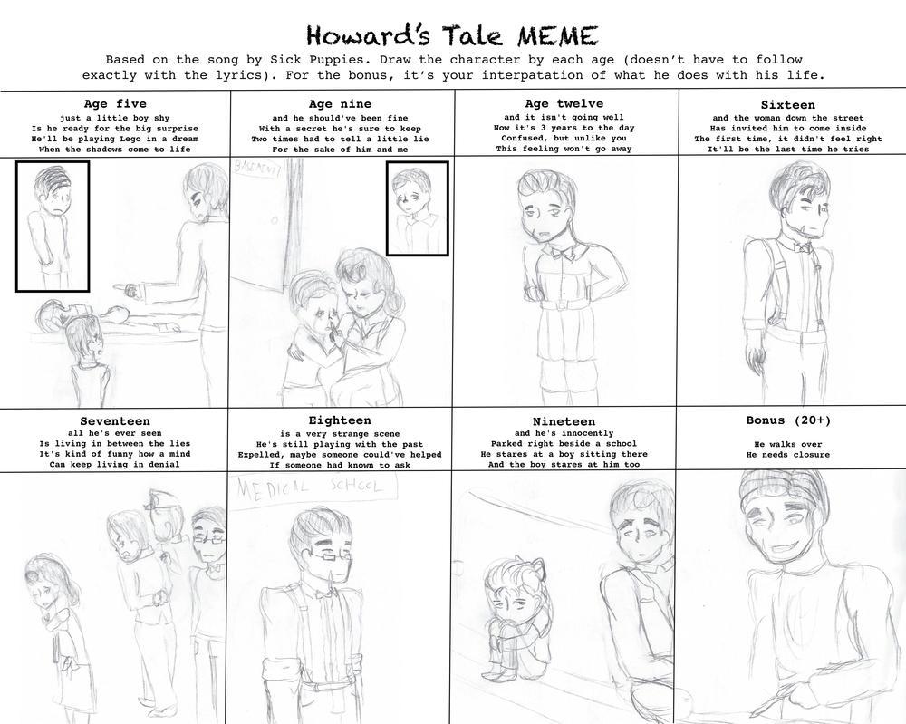 Howard's Tale meme Adolf by MonMonMouse