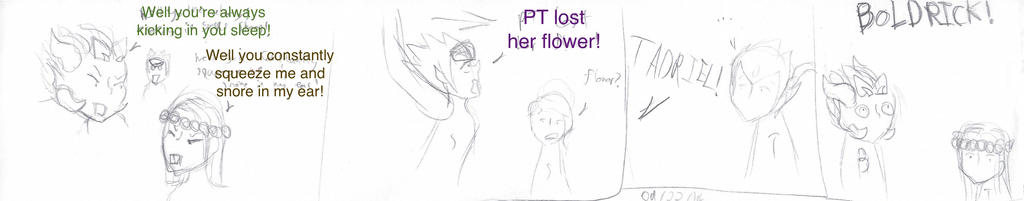 Where's PT's flower by MonMonMouse