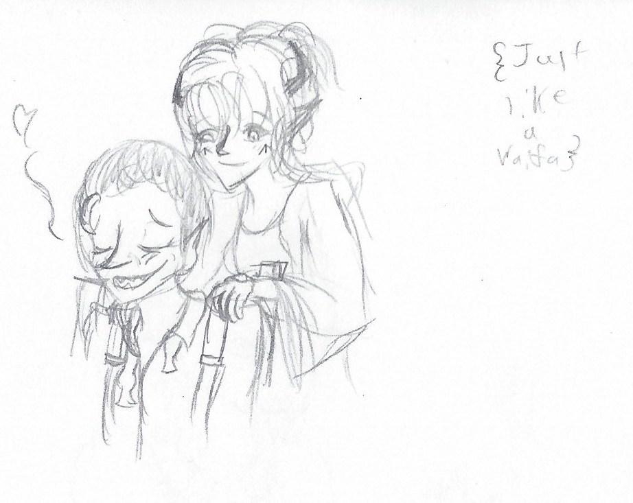 Marla and Javis are Waifu's 2 by MonMonMouse