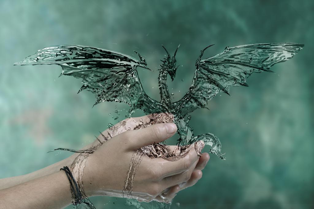 Water Dragon by martinradon