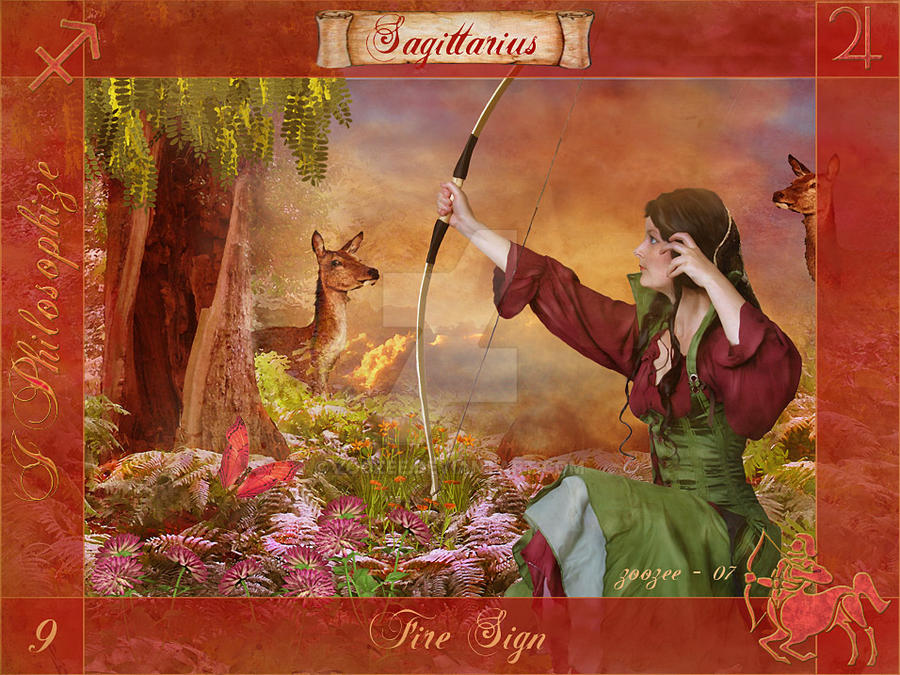 Sagittarius Of The Zodiac By Zoozee D Aqb on Zodiac Ruling Body Parts