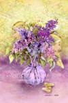 Ladies In The Lilacs by zoozee