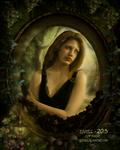 Framed Girl