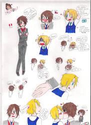 Mini Comic ArgxChi by 7kurau7