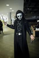 Death eater posing by Yokai9000