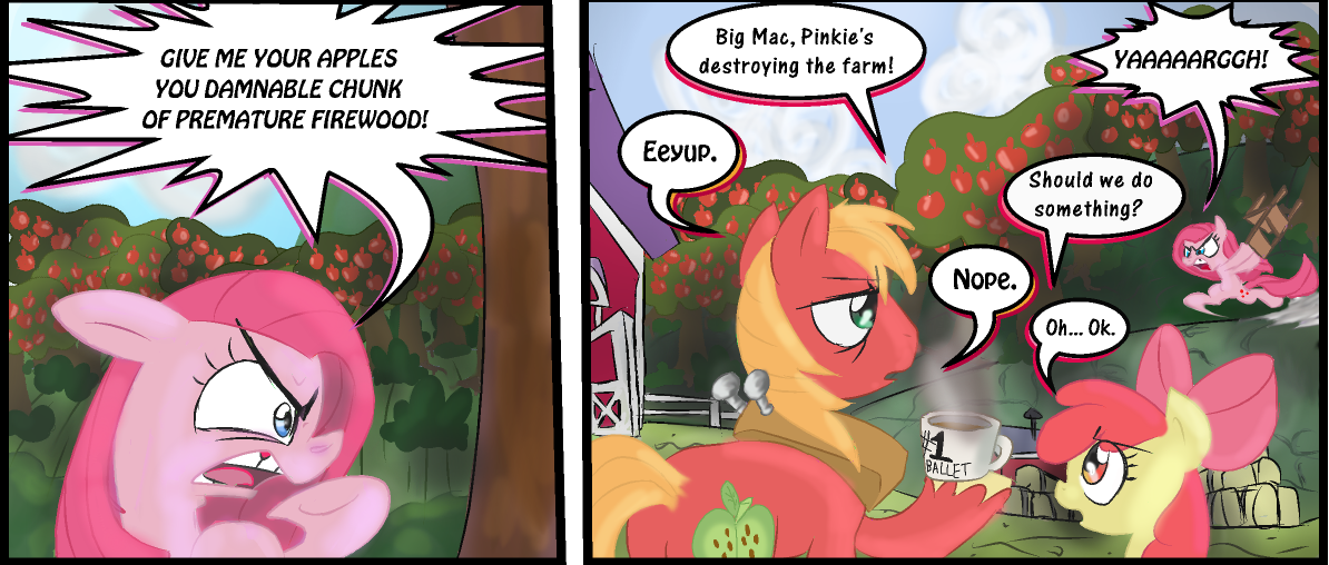 In regards to Apple Pie by Supersheep64