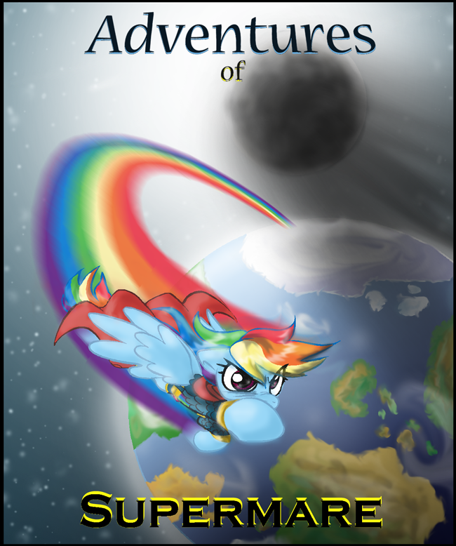 Adventures of Supermare Cover by Supersheep64