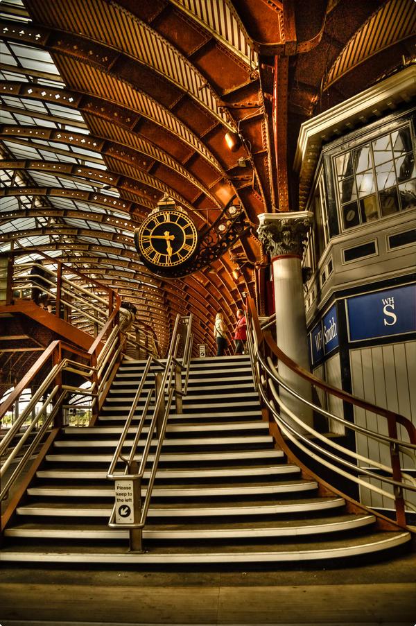 York Railway Station by AndreiaMoutinho