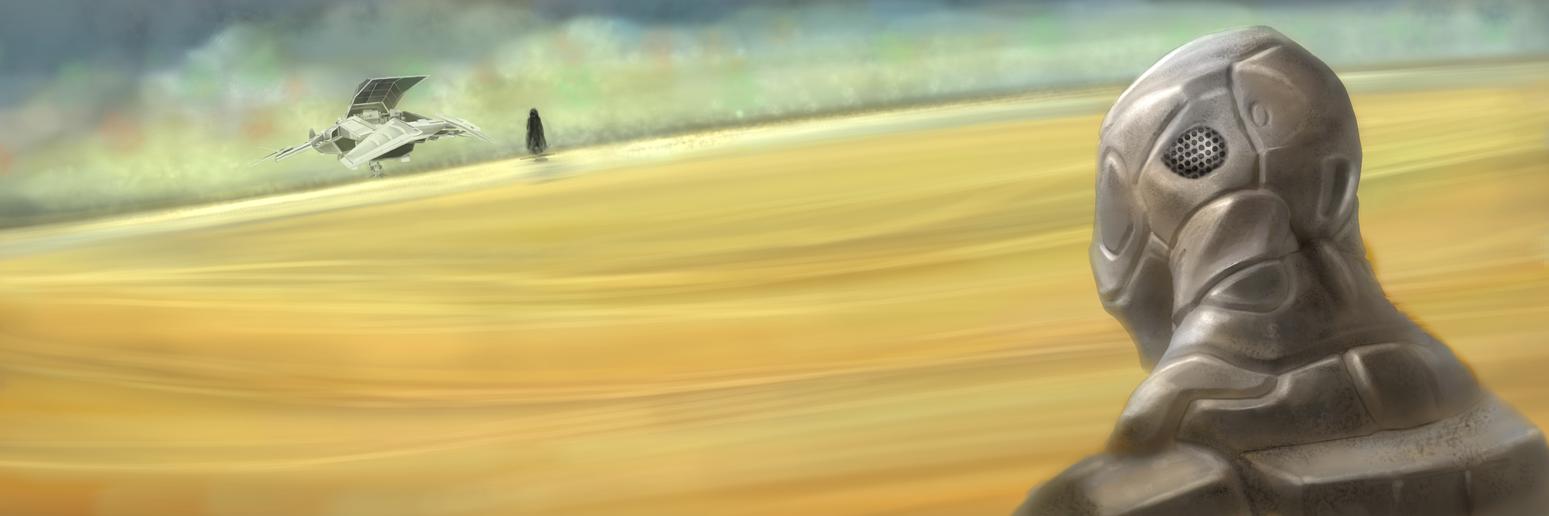Horizon with Dragon Rider by artistcdmj