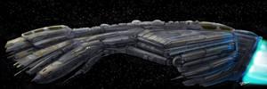 humpback ship by artistcdmj