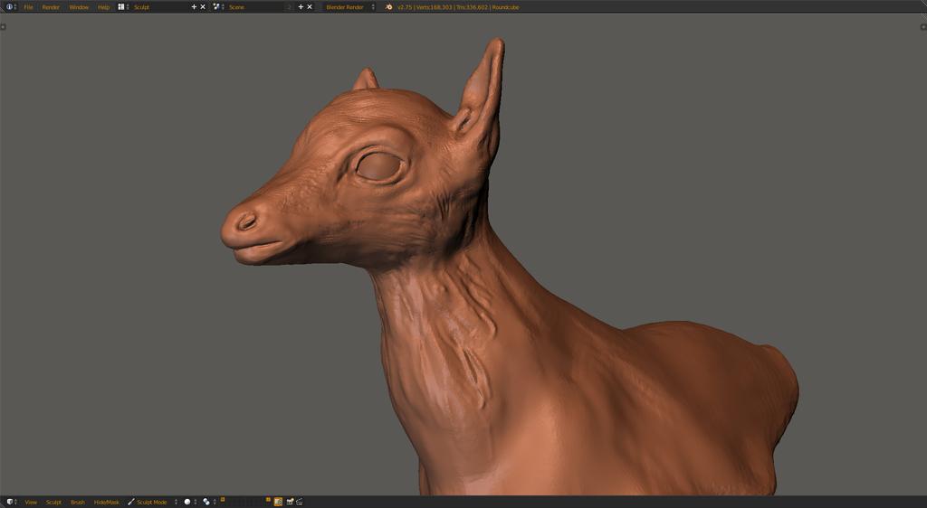 Deer1.blend by artistcdmj