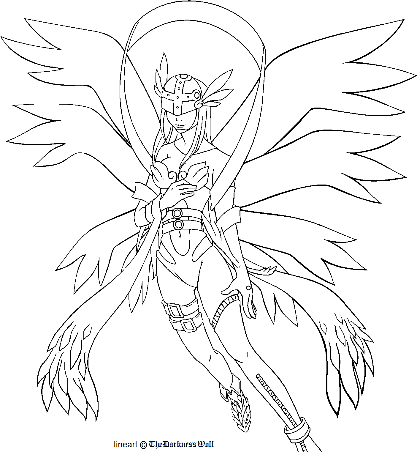 new digimon coloring pages - photo#38