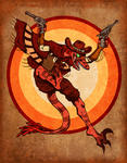 Cowboy Velociraptor