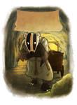 SPQF Illustration- Mining Badger