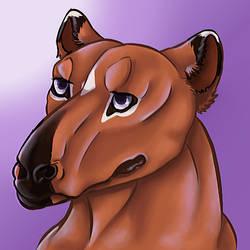Purple Portrait by iZemora