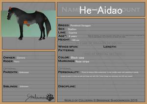 He-Aidao registration
