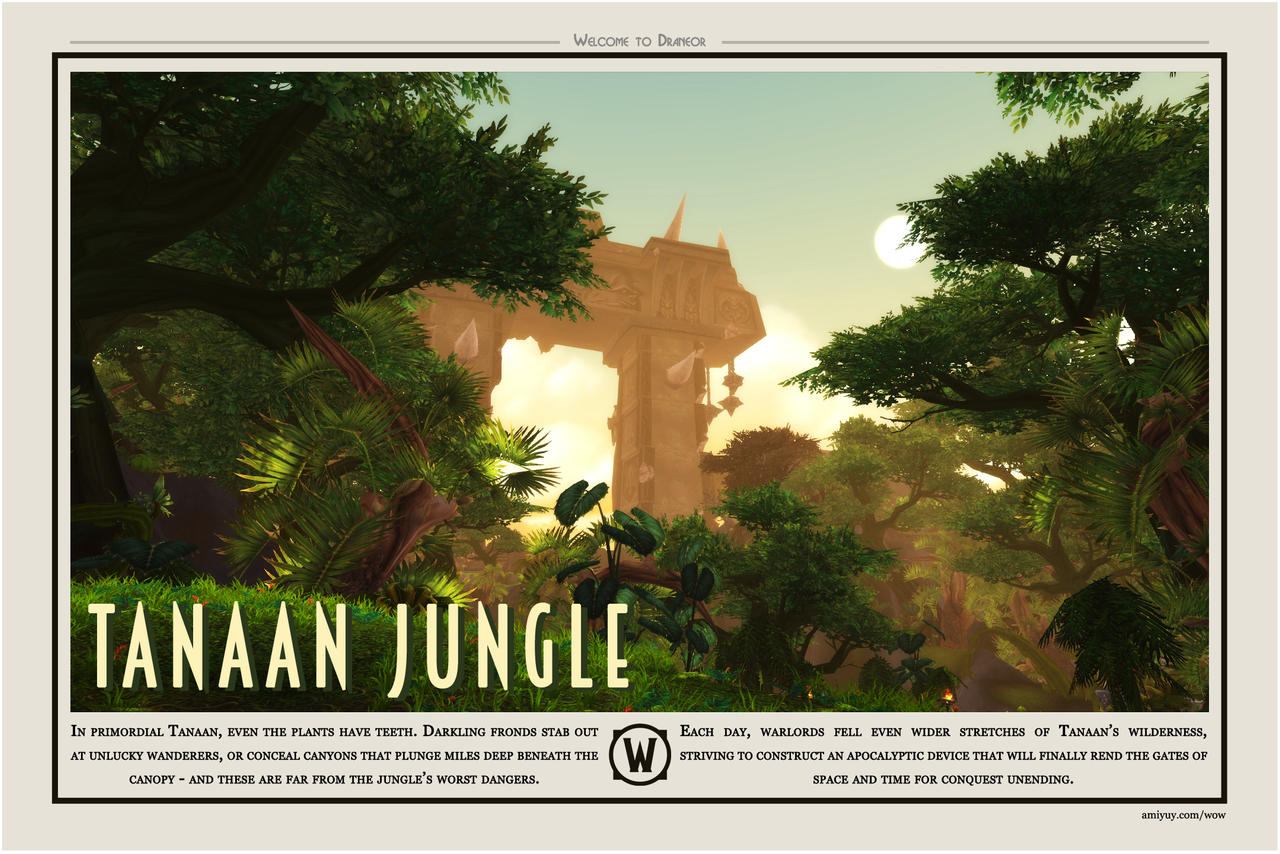 Welcome to Tanaan Jungle