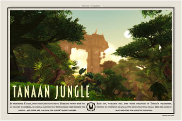 Welcome to Tanaan Jungle by amiyuy