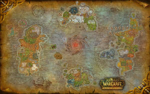 World of Warcraft Azeroth Composite Map - Updated