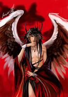 red angel by shihodani