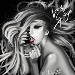 Lady Gaga The edge of glory by shihodani