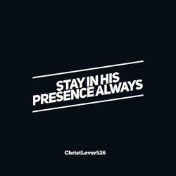 Presence by ChristLover526