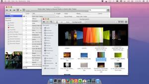 Ubuntu with OS X Lion theme