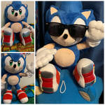 My one of kind Soap shoe sonic plush