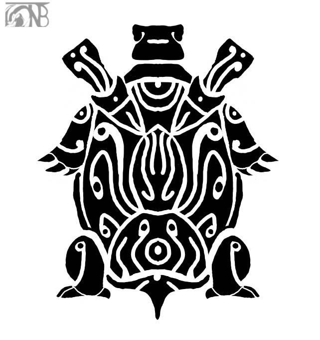 Tribal Blastoise by kompy