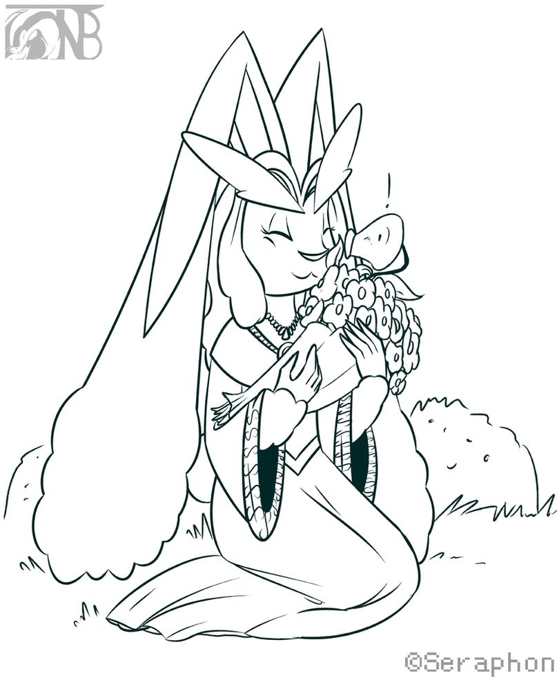 [Commish] Lopunny Princess by kompy