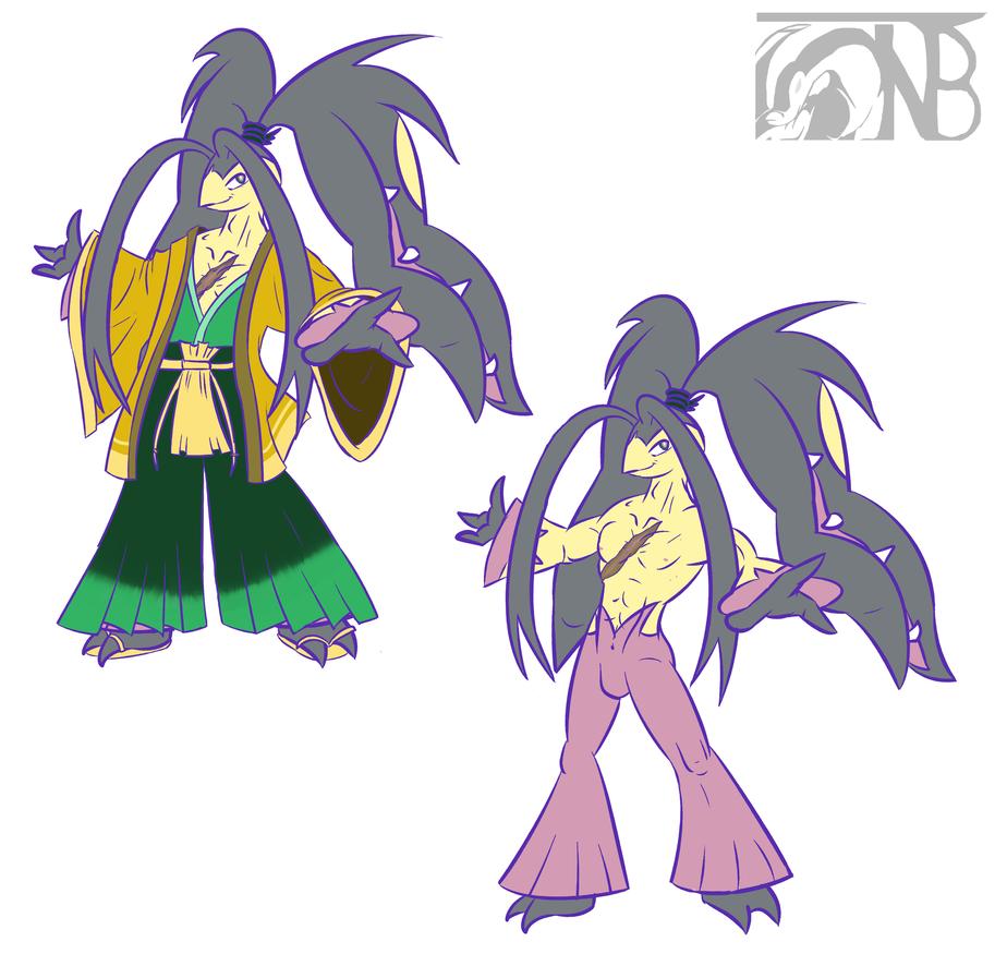 Mega Anji by kompy
