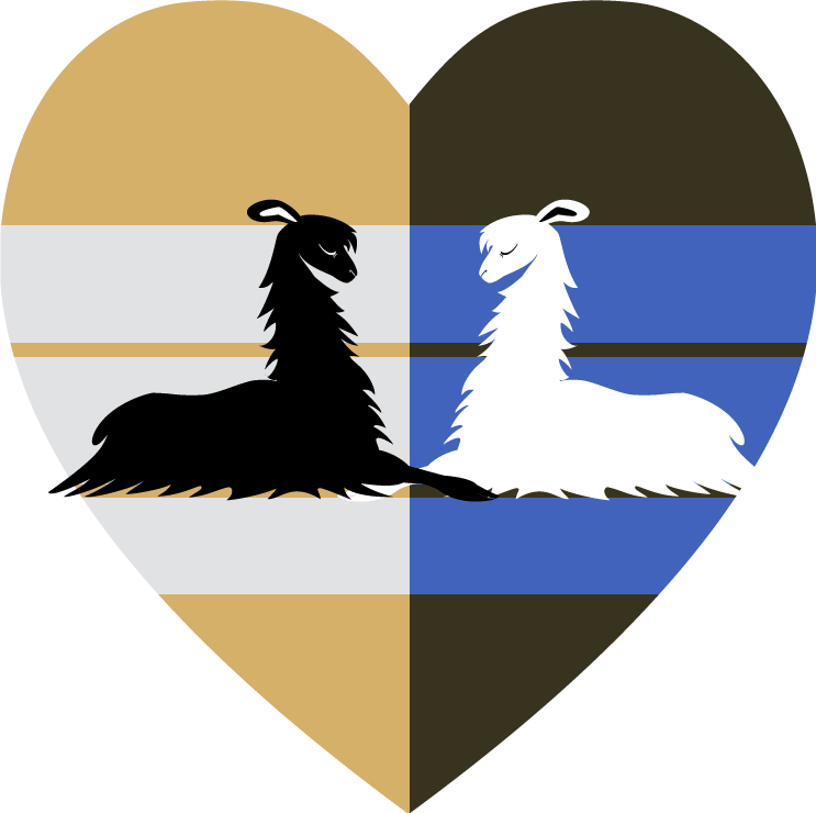 Llama Love by kompy
